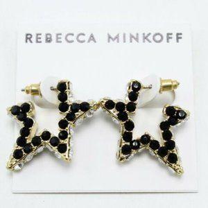 Rebecca Minkoff Super Nova Stone Hoop Earrings